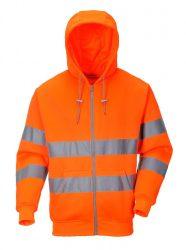 Portwest Hi-Vis zipzáros pulóver