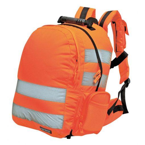 Portwest Jól láthatósági hátizsák, gyorskioldóval
