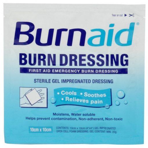 Burnaid 10X10 cm égési kötszer