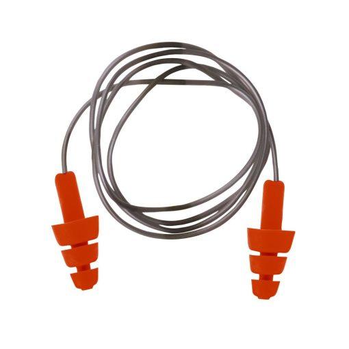 Portwest Újrahasználható zsinóros TPE füldugó (50 db)