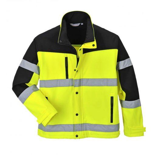 Portwest Kéttónusú Softshell kabát